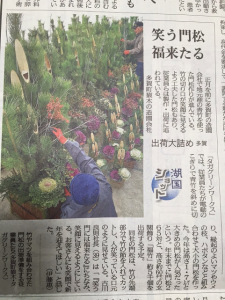 京都新聞 タガグリーンワークス